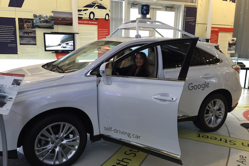 Google Self-Driving Car - Lexus