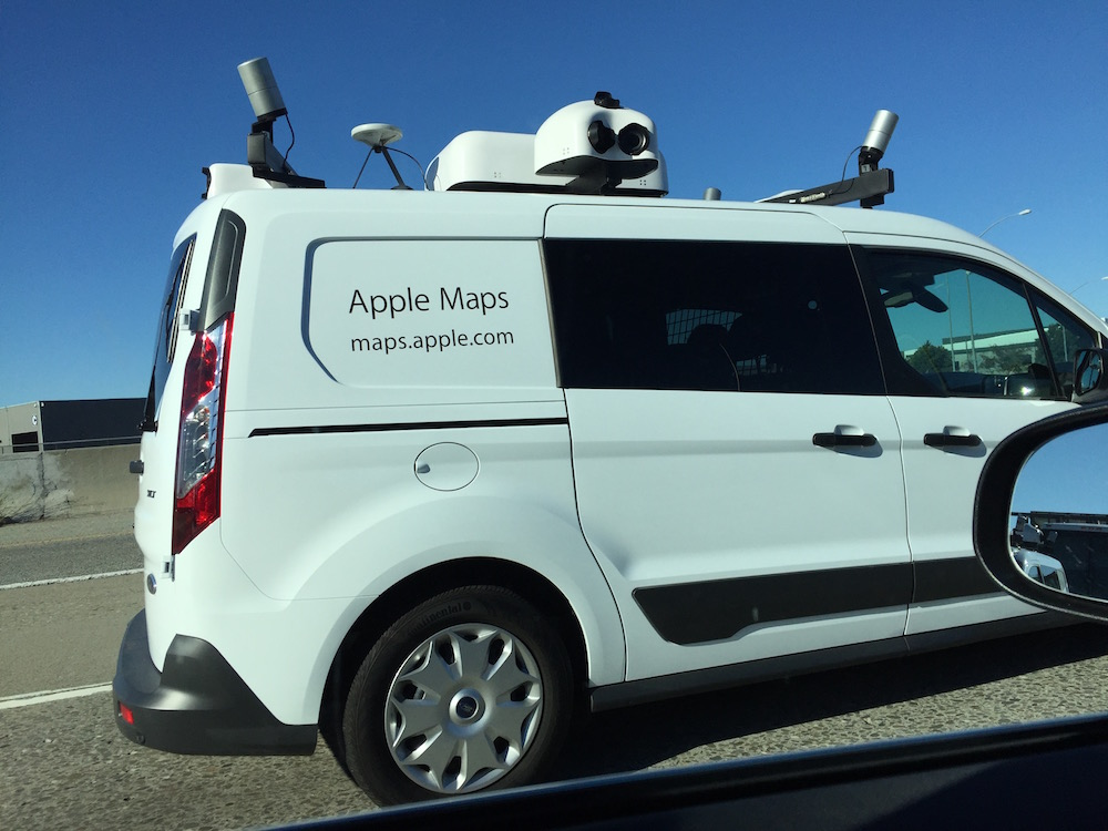 Apple Maps Car