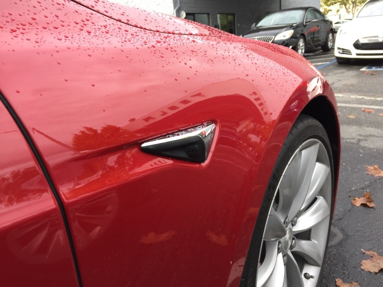 Sideview Camera Tesla Model S