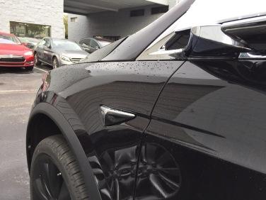 Sideview Camera Tesla Model X