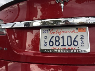 Rearview camera Tesla Model S