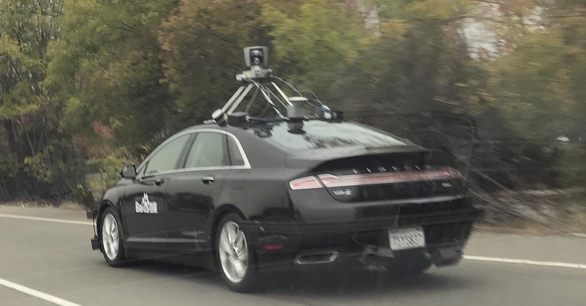 Autonomous test vehicle Baidu (C) Tracy Xu
