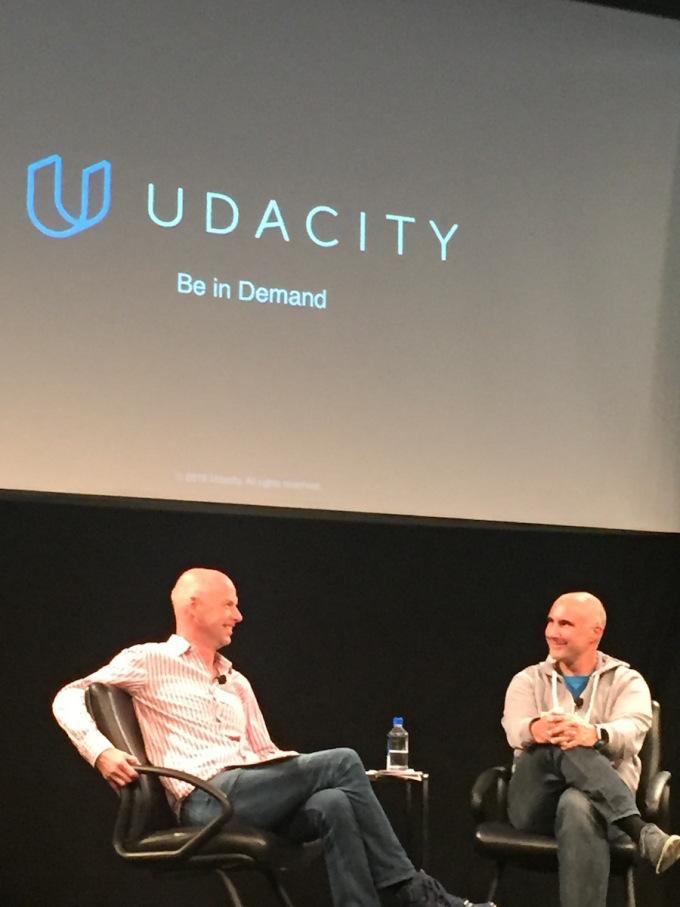 Sebastian Thrun & Axel Gern @Udacity
