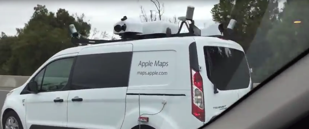 Apple Map Cars Swarming the Neighborhood – The Last Driver License
