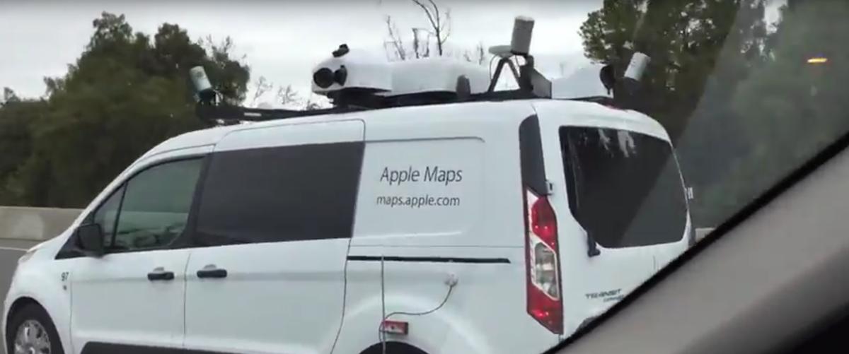 Apple Map Cars Swarming the Neighborhood – The Last Driver