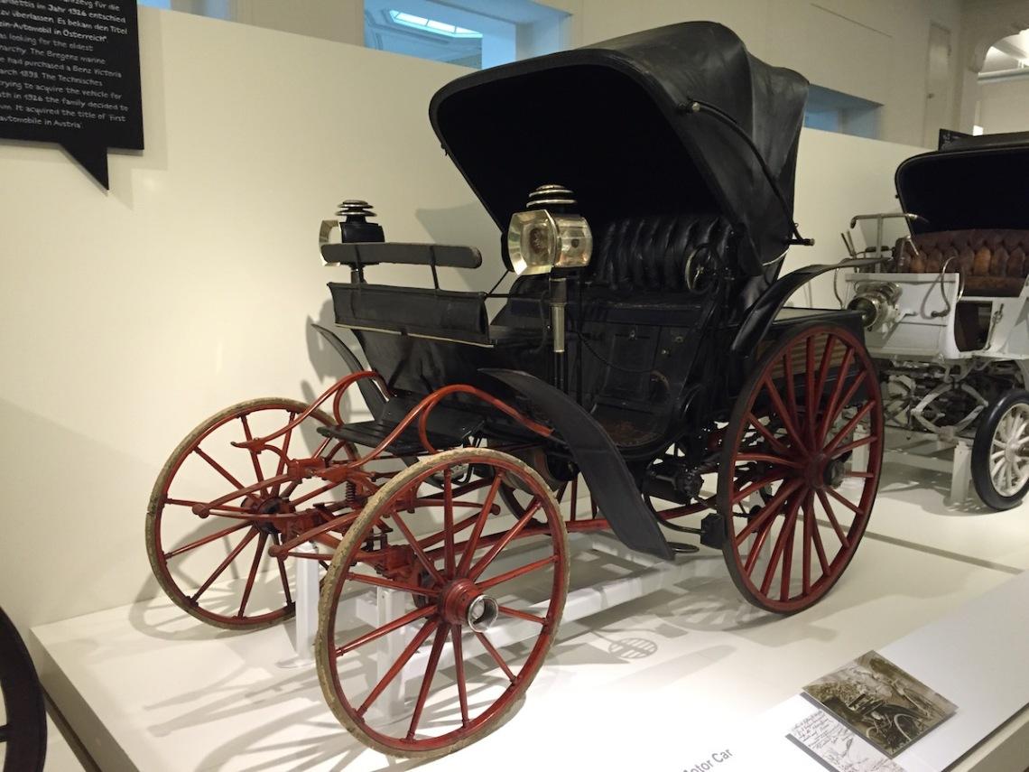 Benz Patent Motor Car Victoria Vis-à-Vis