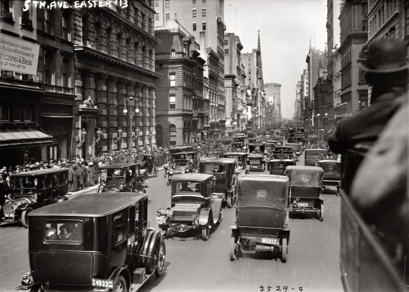 New York Fifth Avenue in 1913