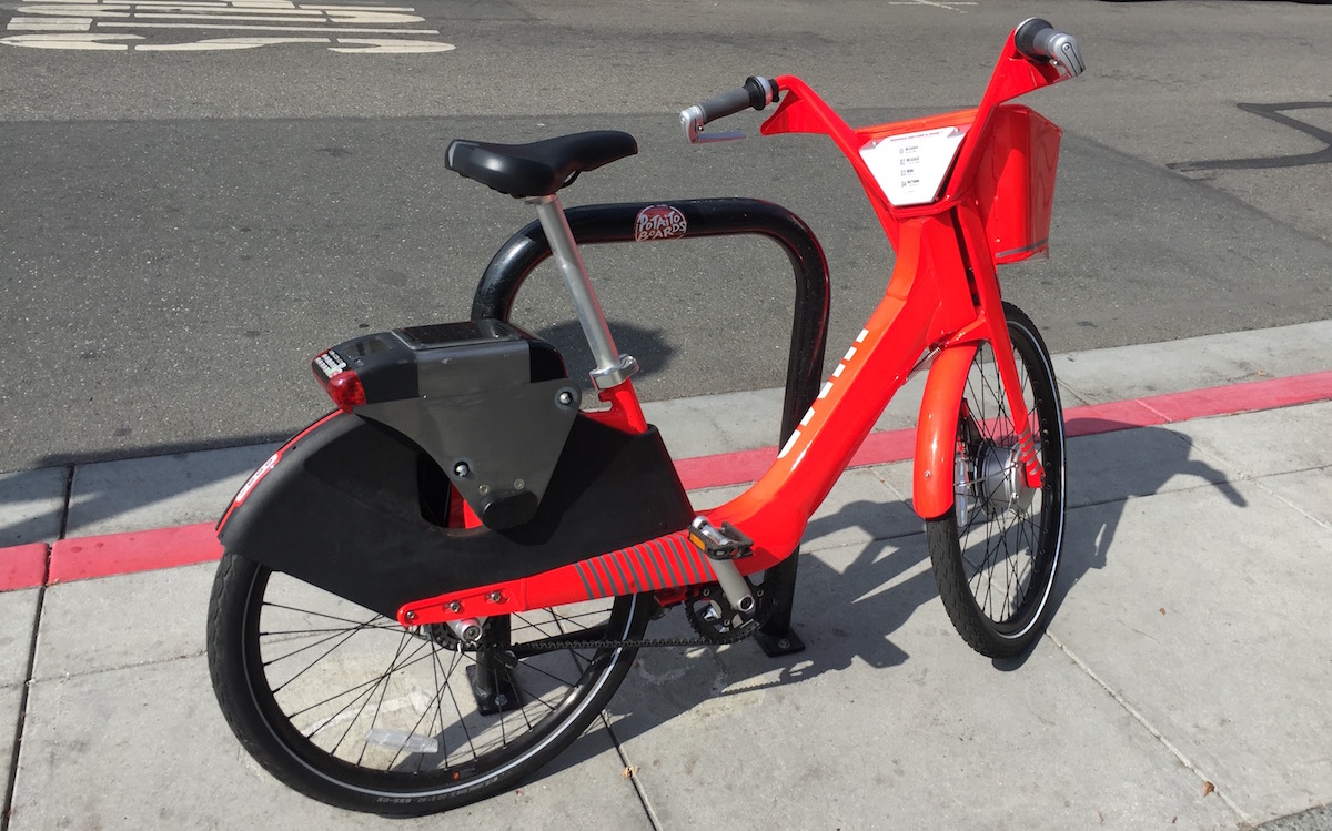 Electric Bike Startup Jump Mobility Spotted in Los Altos
