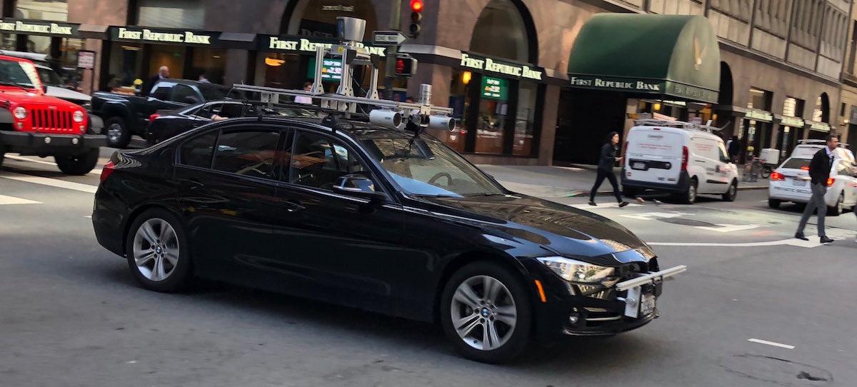 San Francisco Bmw >> Unknown Autonomous Bmw Spotted In San Francisco The Last Driver