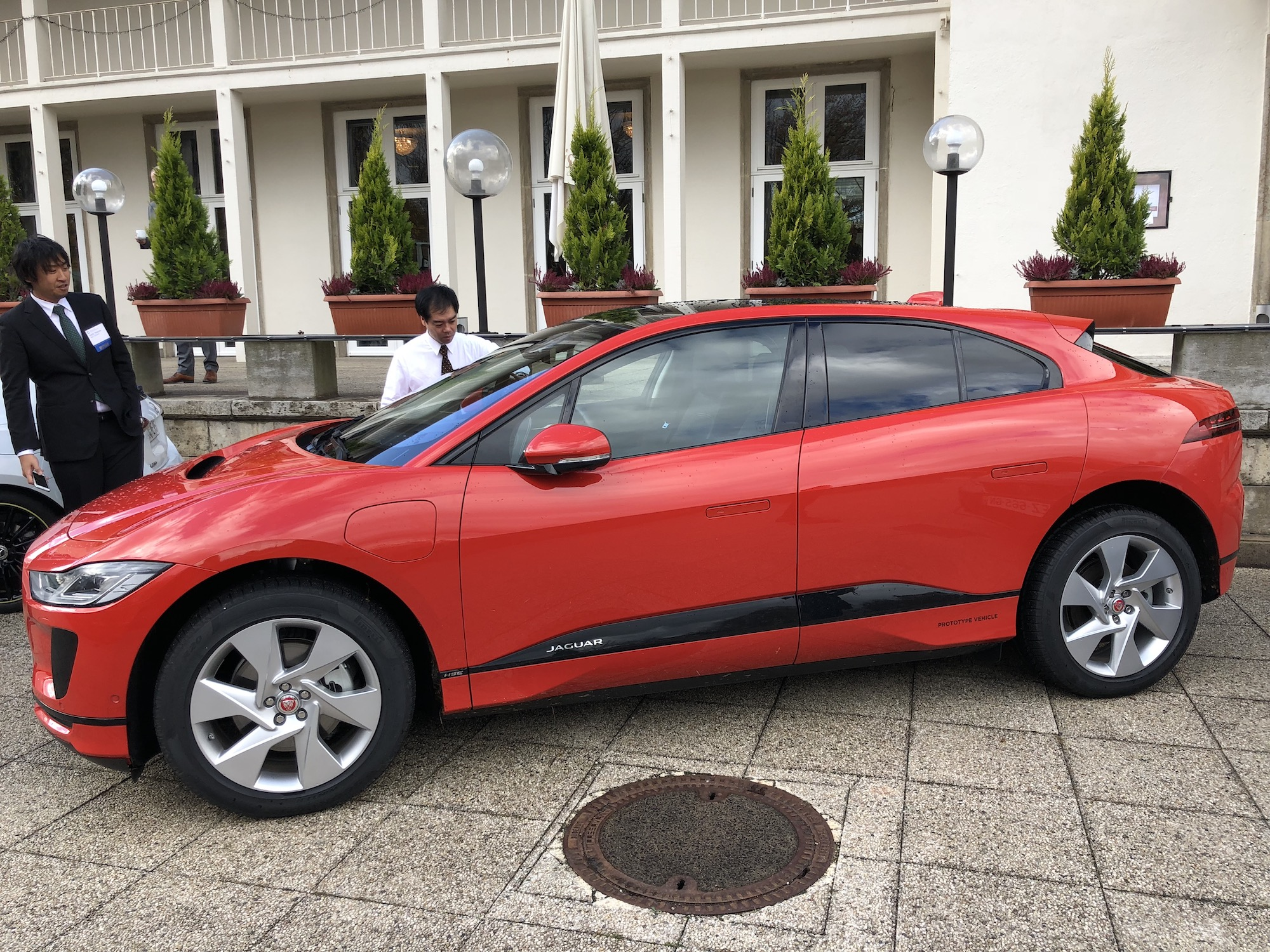 Jaguar Ipace Close Up The Last Driver License Holder