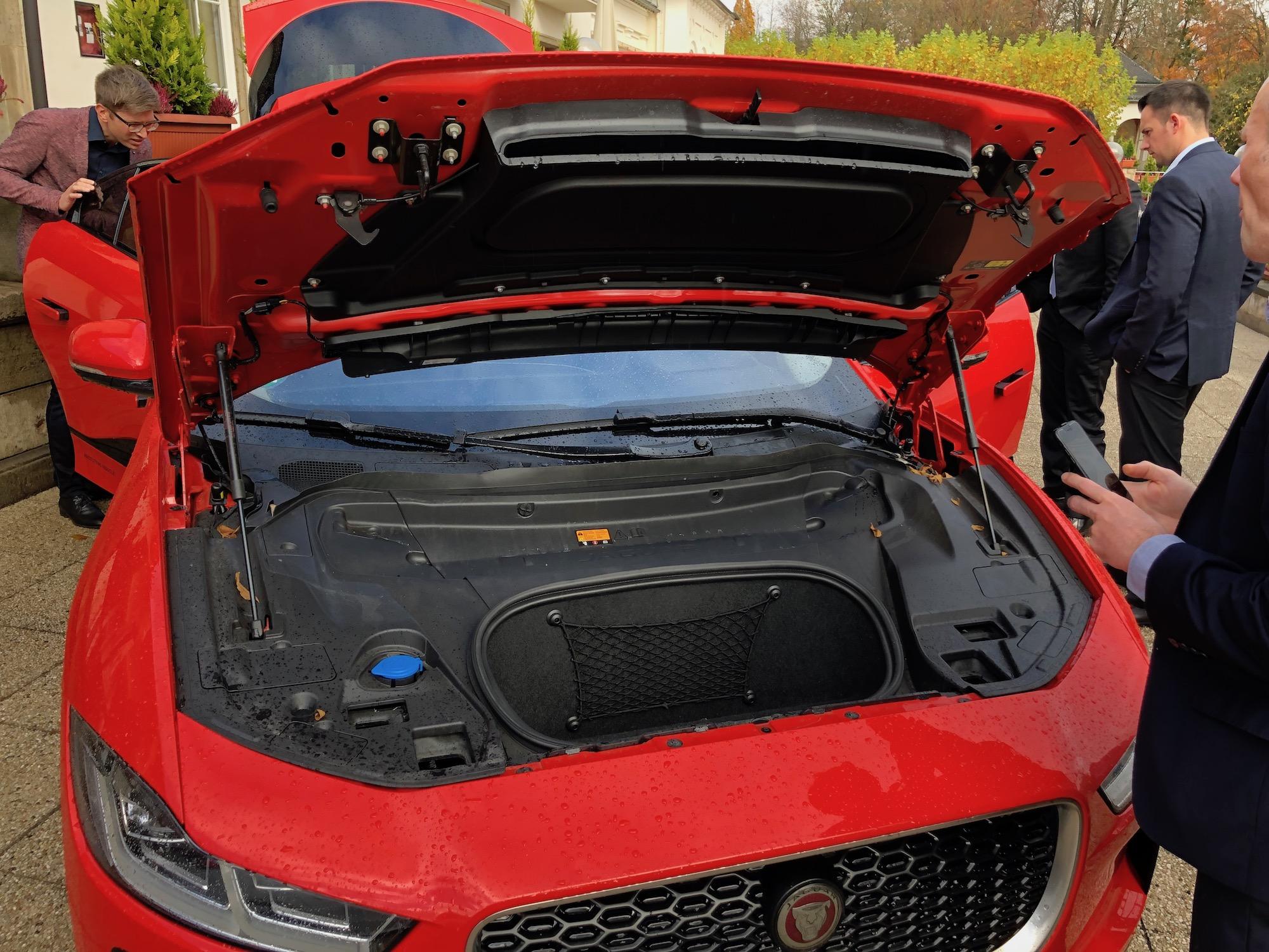 Jaguar Ipace Close Up The Last Driver License Holder