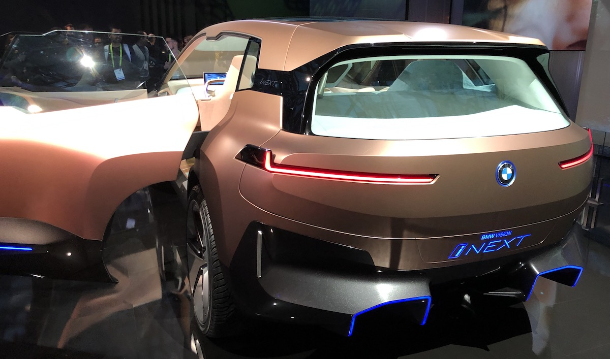 Bmw Inext At Ces 2019 The Last Driver License Holder