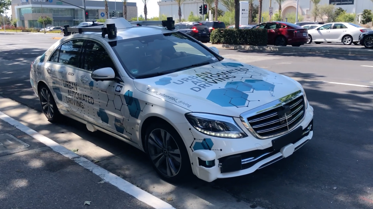 Mercedes San Jose >> Mercedes Benz Urban Automated Driving Vehicle Spotted In San Jose