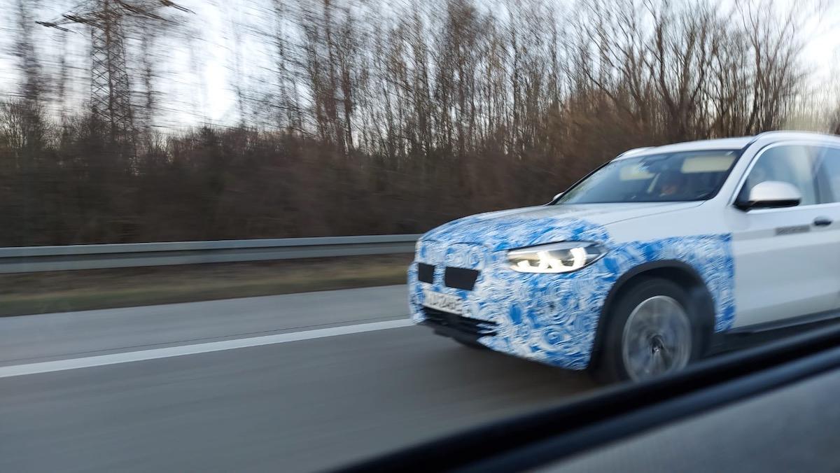 Electric Bmw X3 Erlkönig Spotted The Last Driver License Holder