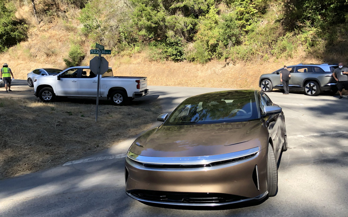 Lucid Air & Lucid SUV Spotted - The Last Driver License ...