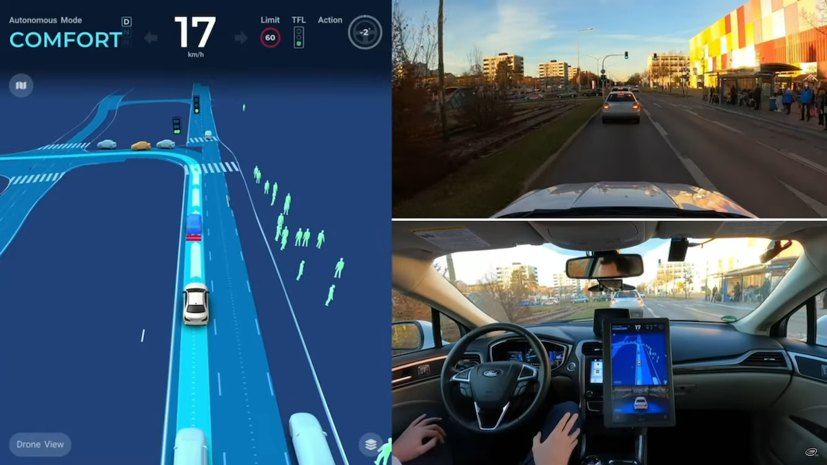 Mobileye Publishes Hour Long Autonomous Drive through Munich